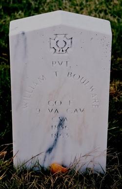 Pvt William T. Boulware