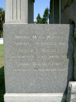 Marion Mead Whitney