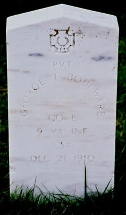 Pvt George T Boulware