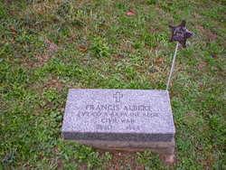 Pvt Francis Albert