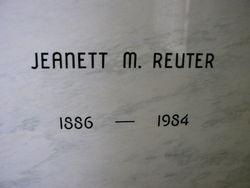 Jeanett Margaret <i>Graham</i> Reuter