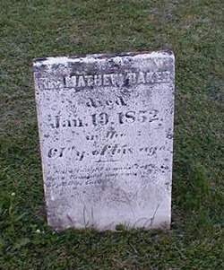 Rev Matthew Baker, Jr