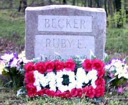 Ruby Ethel <i>Robertson</i> Becker