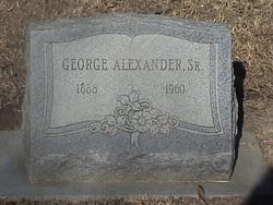 George Alexander, Sr