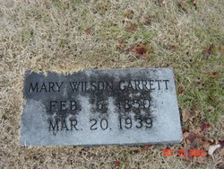 Mary Elizabeth <i>Wilson</i> Garrett