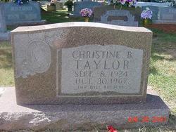 Annie Christine <i>Bastin</i> Taylor