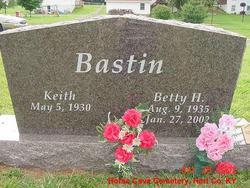 Betty Frances <i>Houk</i> Bastin