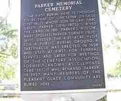 Parker Memorial Cemetery