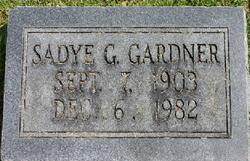 Sadye Vivian <i>Gooch</i> Gardner