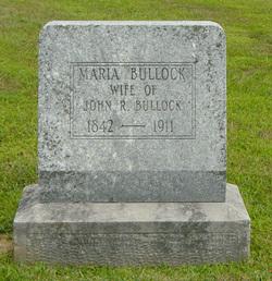 Maria <i>Cain</i> Bullock