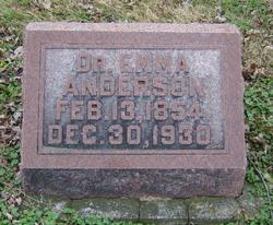 Dr Emazetta Emma <i>Reasoner</i> Anderson