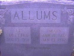 Mary <i>Cross</i> Allums