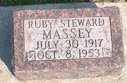 Ruby Alice <i>Steward</i> Massey