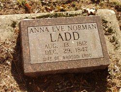 Anna Eve <i>Norman</i> Ladd