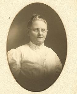 Johanna <i>Becker</i> Burkhardt