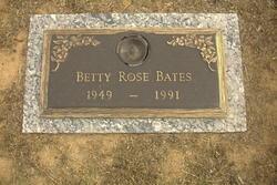 Betty Rose Bates