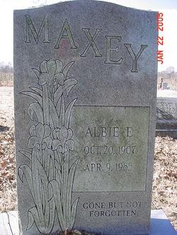 Albie Lela <i>Ellis</i> Maxey