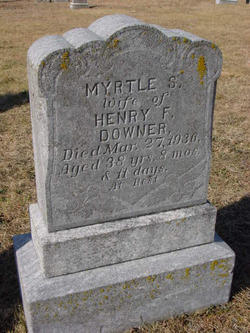 Myrtle F <i>Stansfield</i> Downer