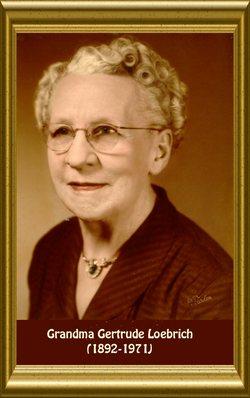 Gertrude Ethel Ursaline <i>Bihlmaier</i> Loebrich