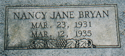 Nancy Jane Bryan