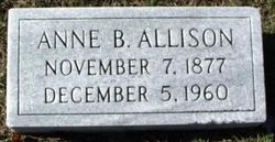 Anne Elizabeth Grandma Nannie Allison