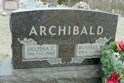 Delphia Lucille <i>Bye</i> Archibald