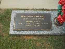 June Rudolph Rudy Hill