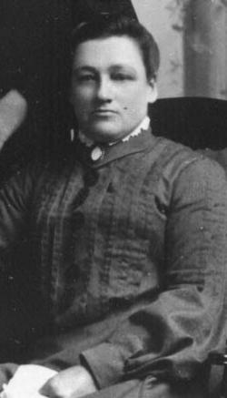 Annie Elizabeth <i>Garbrick</i> Wion