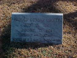 Harold Dunbar Cooley