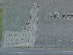Leola Mae <i>Hood</i> Adams
