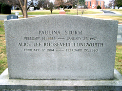 Alice Lee <i>Roosevelt</i> Longworth