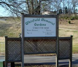 Whitfield Memorial Gardens