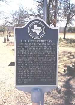 Clairette Cemetery