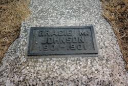 Gracie M Johnson