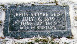 Orpha <i>Andyke</i> Geist