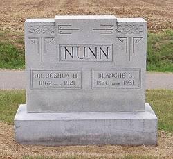 Dr Joshua H Nunn
