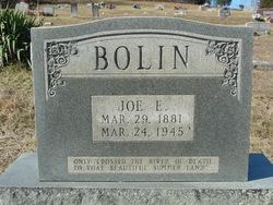 Joseph E. Joe Bolin
