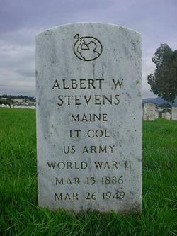 LTC Albert W Stevens