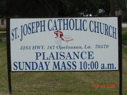 Saint Joseph Catholic Church Cemetery