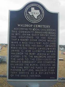 Waldrop Cemetery