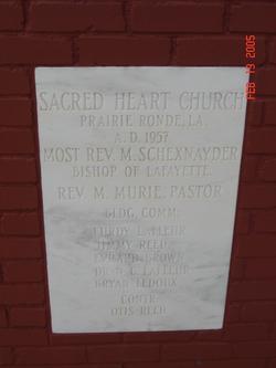 Sacred Heart Prairie Ronde Cemetery