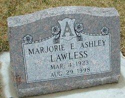 Marjorie E. <i>Ashley</i> Lawless