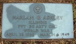 Pvt Harlan O. Ashley