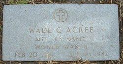 Wade Clay Acree