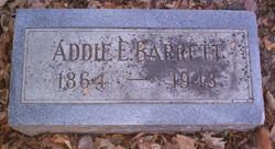 Addie E. Barrett