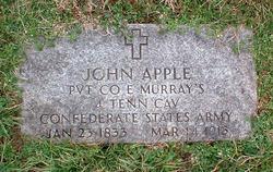 Pvt John Apple