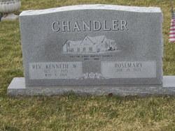 Rev Kenneth W Chandler