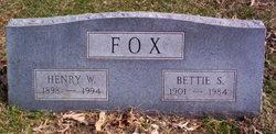 Bettie S. Fox