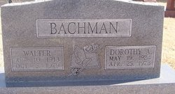 Dorothy A. Bachman