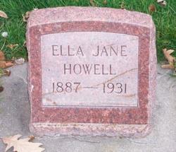 Ella Jane <i>Bohannan</i> Howell